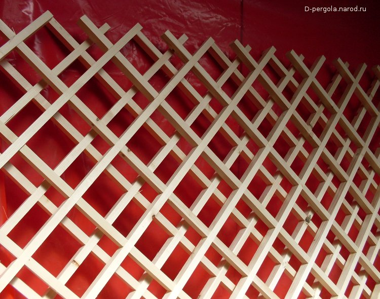 Декоративная решетка на стену своими руками